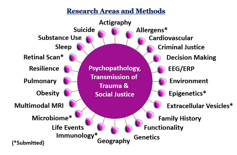 Research Areas and Methods Chart