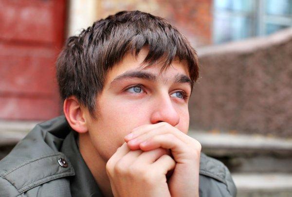 Worried twenty-year old
